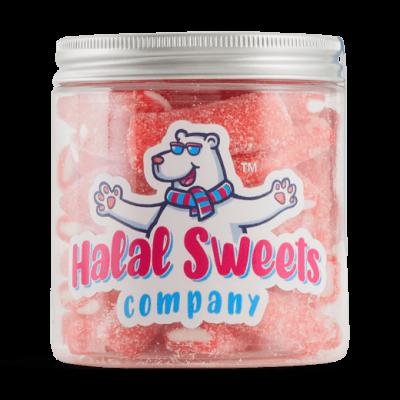 Halal Fizzy Strawberry Pencils - Original Jar