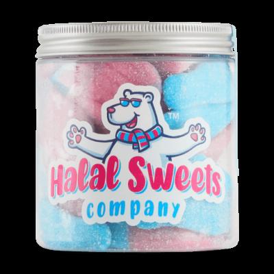 Halal Giant Fizzy Bubblegum Bottles - Original Jar
