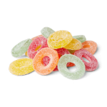 Halal Fizzy Ring Sweets