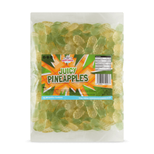 Juicy Pineapples Bulk Bag 1Kg. Wholesale - United Kingdom - Halal Sweets Company