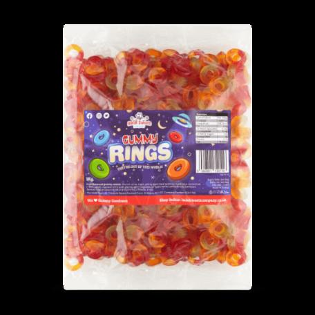 Gummy Rings Bulk Bag 1Kg. Wholesale - United Kingdom - Halal Sweets Company