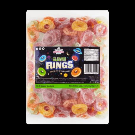 Sugar Rings Bulk Bag 1Kg. Wholesale - United Kingdom - Halal Sweets Company