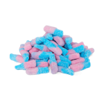 Halal Fizzy Bubblegum Bottles Sweets