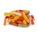 Halal Sour Snakes Sweets