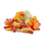 Halal Sour Worms Sweets
