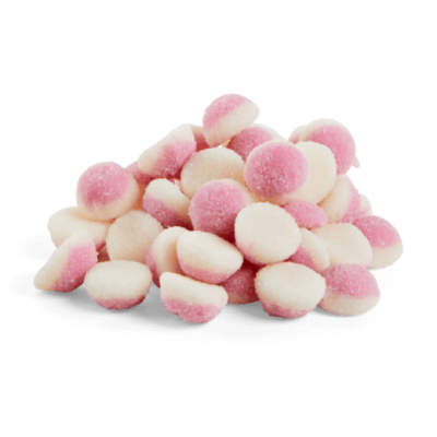 Halal Strawberry Puffs Sweets