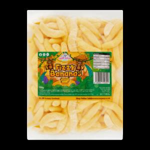 Fizzy Bananas Bulk Bag 1Kg. Wholesale - United Kingdom - Halal Sweets Company