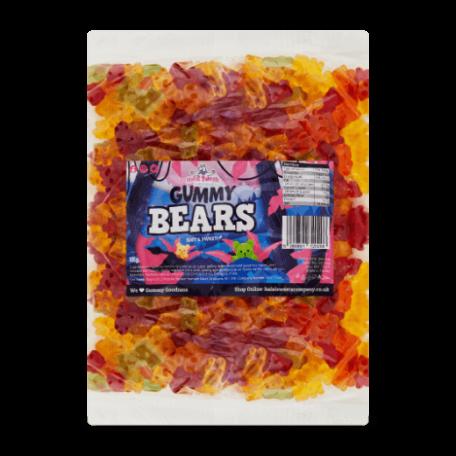 Gummy Bears Bulk Bag 1Kg. Wholesale - United Kingdom - Halal Sweets Company