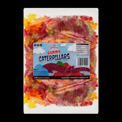 Gummy Caterpillars Bulk Bag 1Kg. Wholesale - United Kingdom - Halal Sweets Company