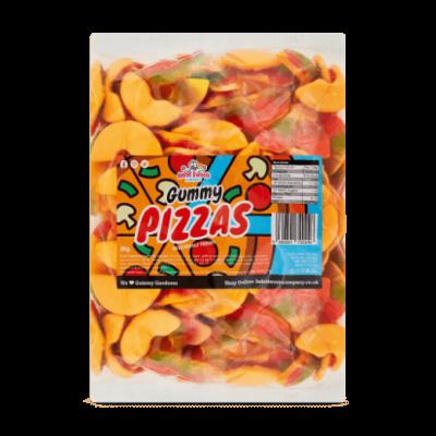 Gummy Pizzas Bulk Bag 1Kg. Wholesale - United Kingdom - Halal Sweets Company