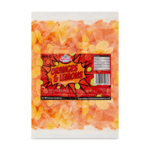 Orange And Lemons Bulk Bag 1Kg. Wholesale - United Kingdom - Halal Sweets Company