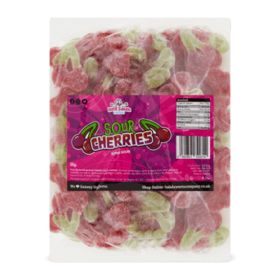 Sour Cherries Bulk Bag 1Kg. Wholesale - United Kingdom - Halal Sweets Company