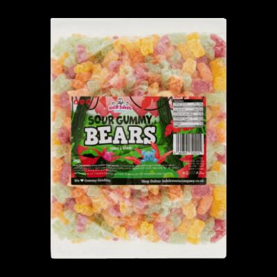 Sour Gummy Bears Bulk Bag 1Kg. Wholesale - United Kingdom - Halal Sweets Company