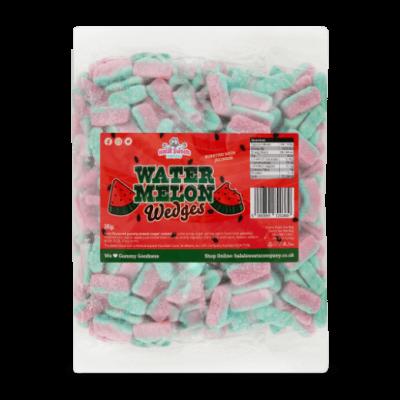 Watermelon Wedges Bulk Bag 1Kg. Wholesale - United Kingdom - Halal Sweets Company