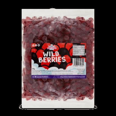 Wild Berries Bulk Bag 1Kg. Wholesale - United Kingdom - Halal Sweets Company